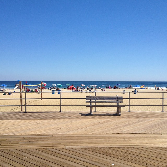 Sometimes work is a day at the beach. #asburypark
