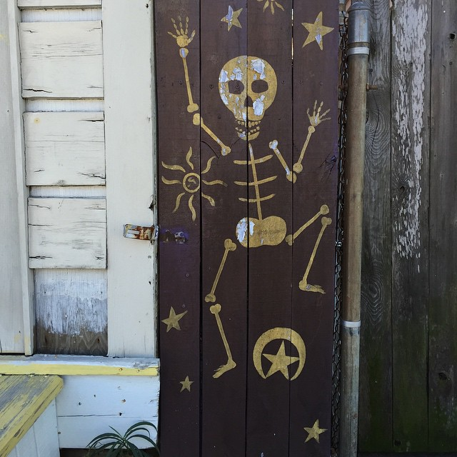New Orleans being New Orleans. #nola #bones