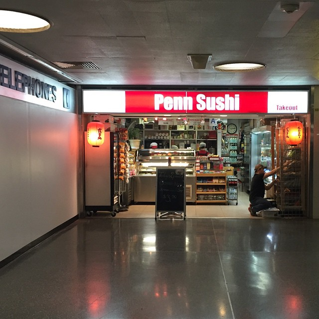 I trust Taylor Swift has been to this NY landmark. #taylorswift #welcometonewyork #pennstation #handrolls