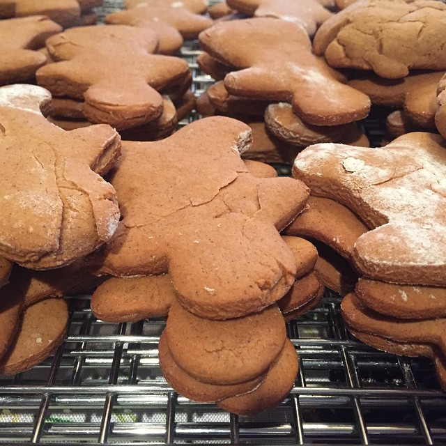 Not only will I catch you, I'll capture everyone in your town, Gingerbread Man. #Xmas #cookies #allmine
