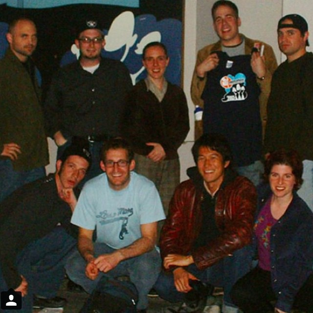Regramming this 2003 photo from @sf_sketchfest . Look at these young people! So full of hope! Tomorrow at 8 we make some new memories with @killingmylobster at The Eureka!
