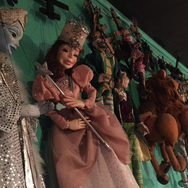 If I have nightmares tonight, this is why. #oz #puppets #scared #real #nofilter
